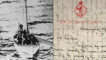 A passenger aboard Titanic's rescue ship, Carpathia, wrote a handwritten letter to a friend in which she described what life like on the ship when the survivors of Titanic's sinking boarded. The letters are up for auction.