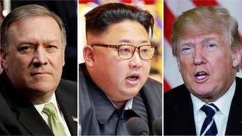 Mike Pompeo meets with Kim Jong Un in the midst of heated confirmation battle to become secretary of state; Rich Edson has the latest from the State Department.