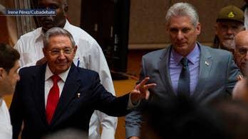 Miguel Diaz-Canal succeeds Raul Castro as Cuba's new president; Steve Harrigan reports live from Havana, Cuba.