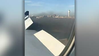 Another emergency landing made by Delta airlines due to smoking engine; Julie Banderas has the latest.