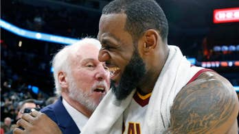TNT reporter asks LeBron James about death of Spurs coach's wife, gets slammed on social media