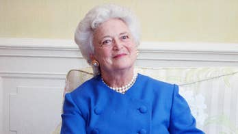 Former first lady to be laid to rest Saturday; public can pay respects Friday. Casey Stegall reports from Houston.