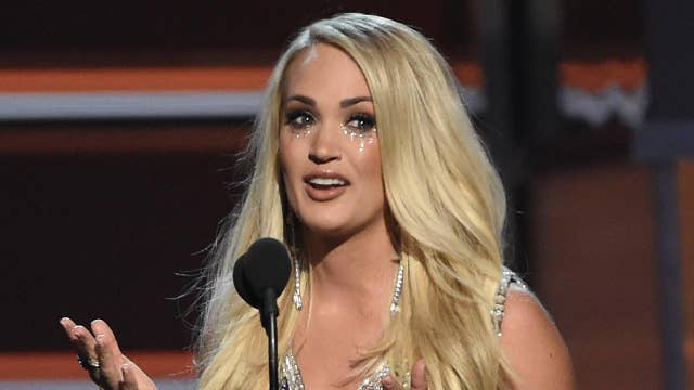 Carrie Underwood needed 40 stitches to her face after fall