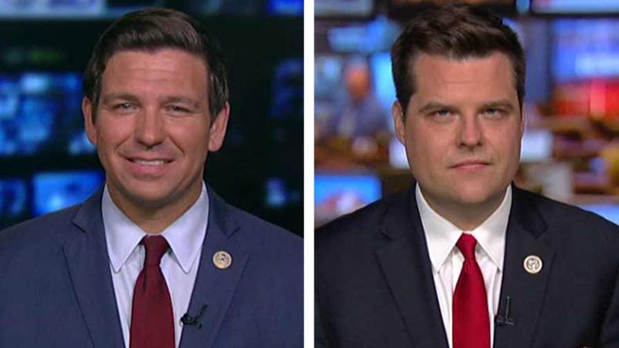 House Republicans send letter requesting investigations into Obama-era officials; Reps. Ron DeSantis and Matt Gaetz explain on 'Hannity.'