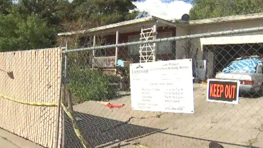 A condemned home sells for $1.23 million in cash due to a high demand in Fremont, California.