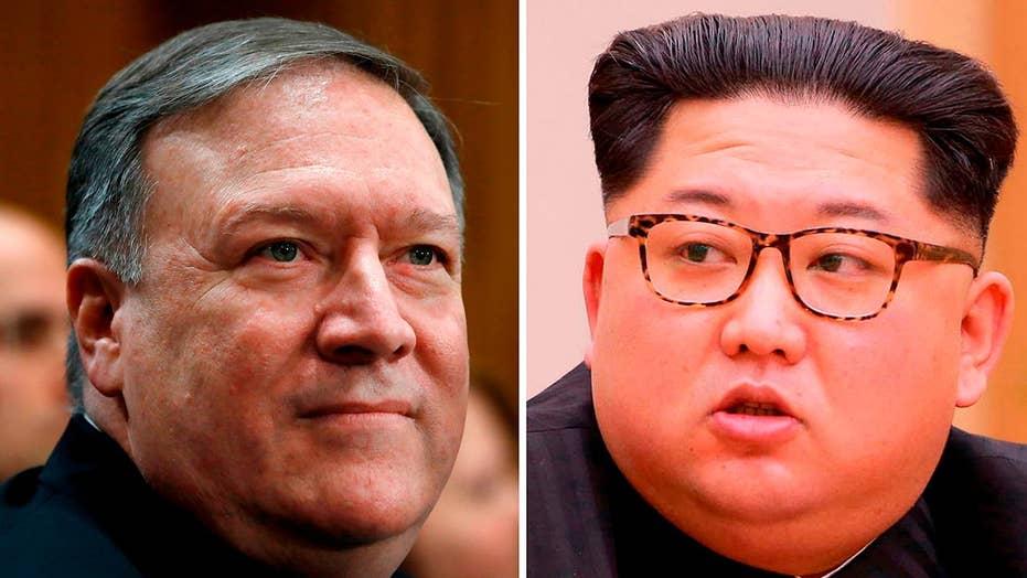 Pompeo has secret sit down with North Korea's Kim Jong Un