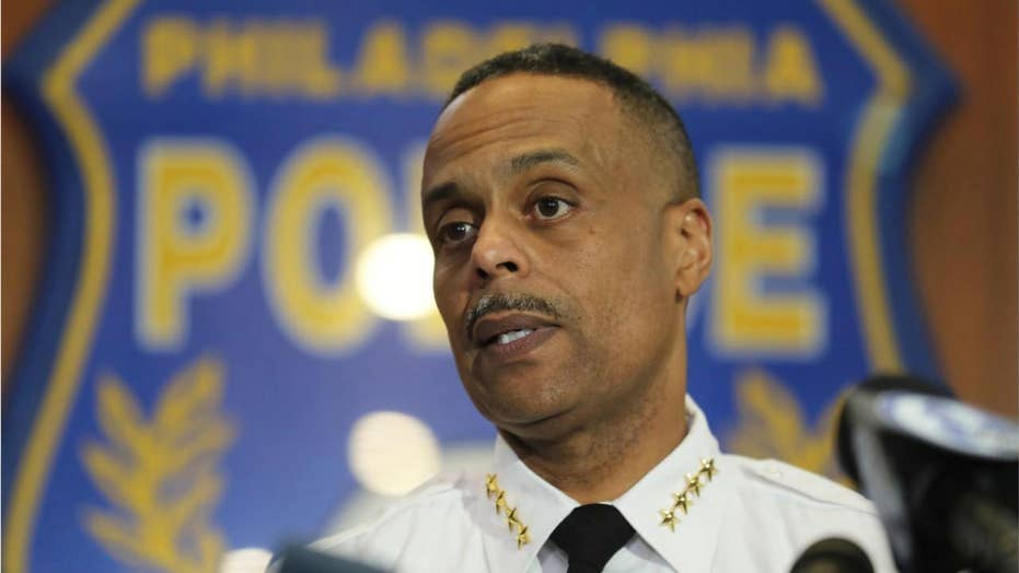 Philadelphia police commissioner apologizes to men arrested at