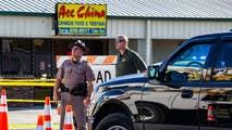 Fallen deputies shot through a restaurant window and hailed as 'men of integrity.'