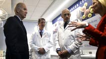 In 2016, President Obama appointed Vice President Joe Biden to lead the national Moonshot Initiative to eliminate cancer. Today, Biden continues his efforts with the Biden Cancer Initiative, a non-profit with the same mission, to help double the rate of progress in preventing, detecting, diagnosing, and treating cancer.