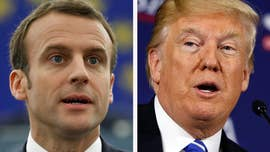 President Trump next week hosts French President Emmanuel Macron at the White  House, marking the first state visit since Trump took office last year.