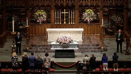 An invitation-only private funeral service wil be held Saturday in Houston for the late former first lady Barbara Bush, with first lady Melania Trump and former presidents Bill Clinton and Barack Obama and their wives expected among some 1,500 guests.