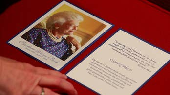 Former first lady to lie in repose at St. Martin's Episcopal Church in Houston; Casey Stegall reports.