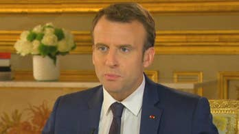 French President Macron tells Chris Wallace he's not one to judge the investigations into President Trump; watch the full interview on 'Fox News Sunday' on April 22.