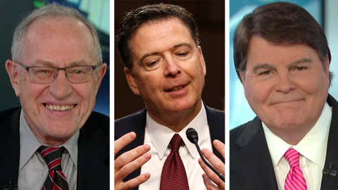 Dershowitz, Jarrett on release of Comey memos