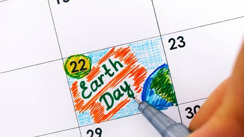 Earth day by the numbers