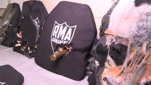 First-hand look: The 'world's best body armor'
