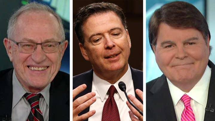 Alan Dershowitz, Gregg Jarrett on the release of Comey memos