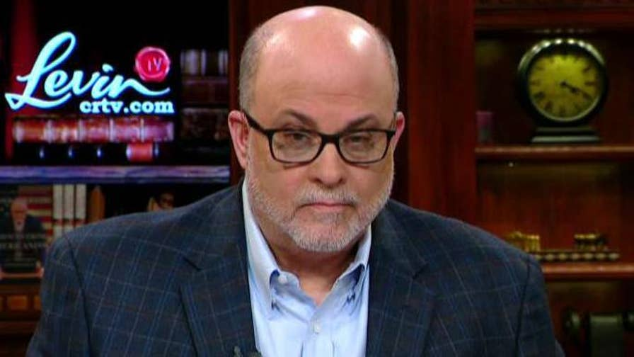 'Life, Liberty & Levin' host Mark Levin speaks out on 'Hannity' after James Comey's redacted memos are released.