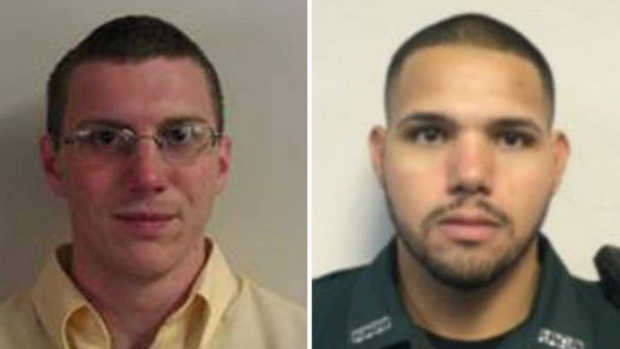 Investigators say the gunman fired at the deputies through a restaurant window; Jonathan Serrie has updates from Atlanta.