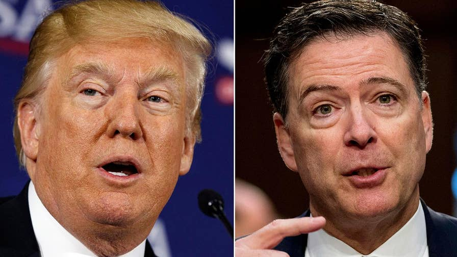 Memo from fired FBI Director James Comey reveals President Trump supported investigation of his campaign; reaction and analysis on 'The Five.'