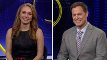 This week's news quiz on the week's current events features a rematch between Fox News Headlines 24/7 anchor Brett Larson and Olympic Media managing editor Katie Frates.#Tucker
