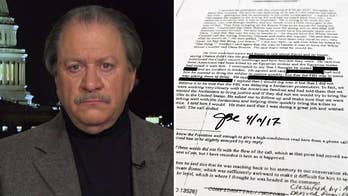 James Comey says in his memos that Trump wanted to know of any wrongdoing among his team; Alan Dershowitz and Joe diGenova react to the redacted Comey memos on 'Hannity.'