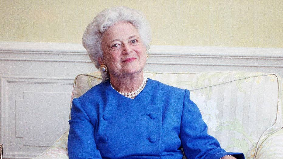 Honoring the life of former first lady Barbara Bush