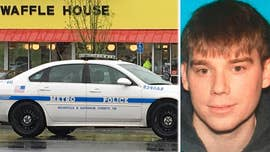 The man suspected of killing four people in a half-naked shooting rampage inside a Waffle House in Nashville may be carrying two guns as he evades police -- and was arrested by Secret Service last summer for being in a restricted area near the White House, investigators revealed in a Sunday news conference.