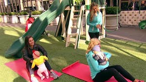 Former 'Fox & Friends Weekend' host Anna Kooiman and Nicole Glor of NikkiFitness.com share workout tips for busy parents.