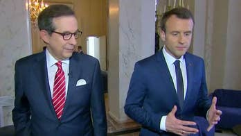 Emmanuel Macron opens up about his role as the president of France in a 'Fox News Sunday' exclusive.