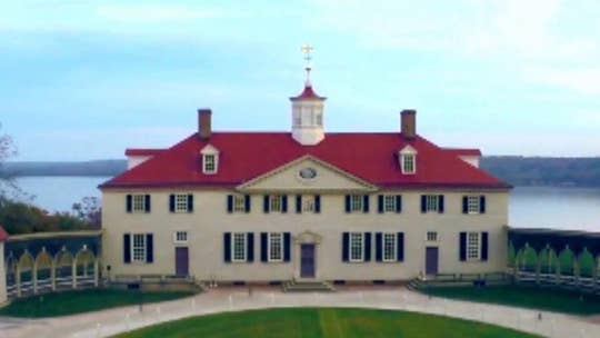 George Washington's Mount Vernon estate takes center stage