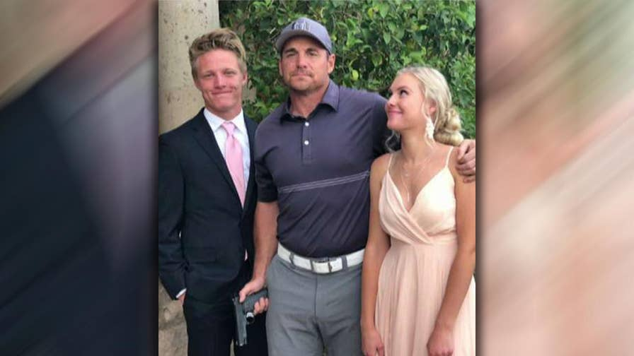 Jay Feely posted a photo on Twitter of himself armed with a gun between his daughter and her prom date; Katie Pavlich reacts on 'Fox & Friends.'