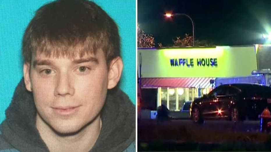 Rpt: Police surround home in search of Waffle House gunman