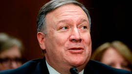 Mike Pompeo, President Trump's pick for secretary of state, barely avoiding a rare rebuke Monday from the Senate Foreign Relations Committee amid last-minute drama.