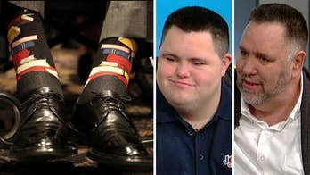 John's Crazy Socks co-founders talk about the former president reaching out to them.
