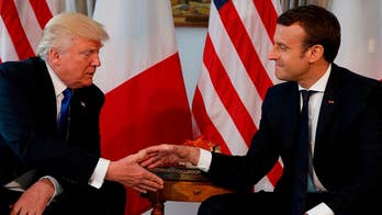 Crisis in North Korea expected to be a main focus between Macron and Trump. Doug McKelway has the latest from the White House.