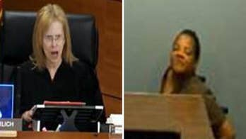 Judge Merrilee Ehrlich under fire video surfaces of an angry exchange with an inmate in a wheelchair.