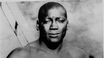 "President Trump Saturday said that he is considering a ""full pardon"" for boxing's first black heavyweight champion, Jack Johnson, after being urged to do so by ""Rocky"" actor Sylvester Stallone."