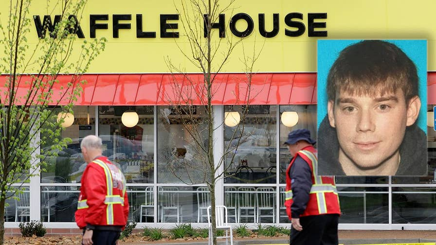 Active search for Waffle House shooting suspect intensifies. Jonathan Serrie reports from Antioch.