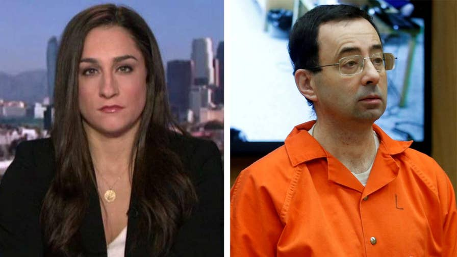 Olympic gold medalist and survivor of Larry Nassar's abuse joins 'The Story' to discuss the interview given by the Karolyis, her former gymnastics coaches, claiming they were unaware of abuse.