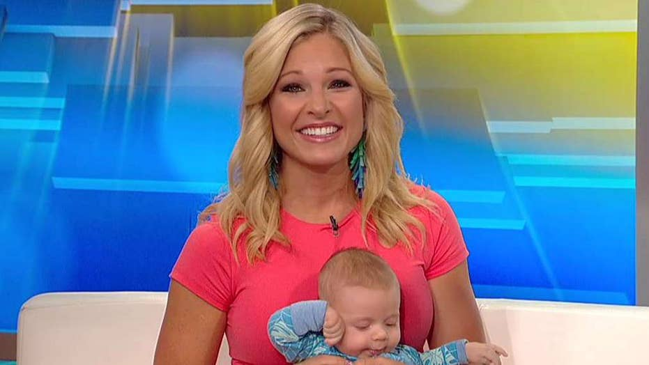 Anna Kooiman's tips for traveling with a baby