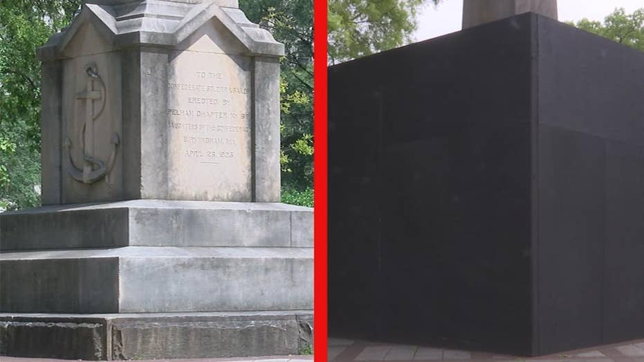 Confederate monument sparks legal dispute