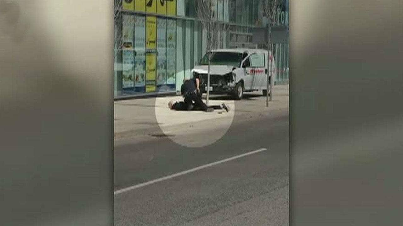 Toronto van crash suspect ID'd as police won't rule out terror possibility