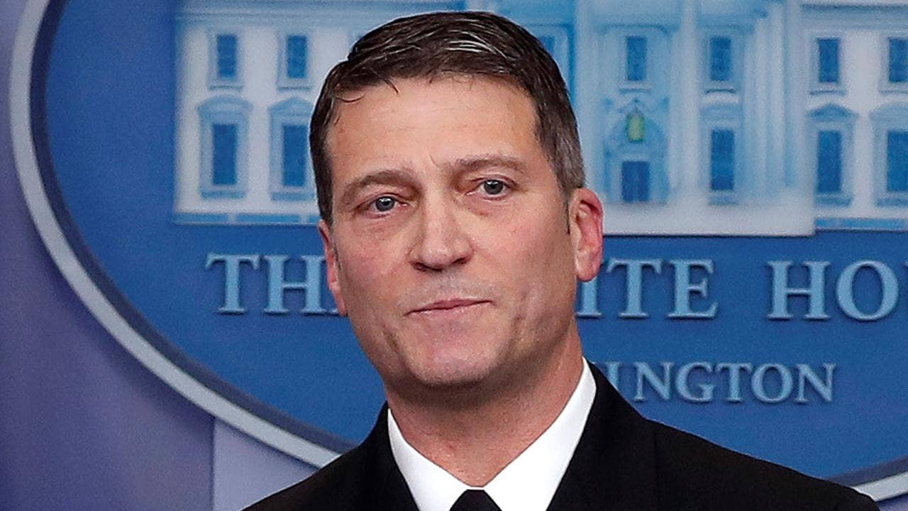 White House doubles down in defense of embattled VA nominee Ronny Jackson