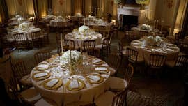 Tuesday night's state dinner at the White House honoring French President Emmanuel Macron and his wife, Brigitte, will be an opportunity to highlight the historic settings and artifacts that commemorate our heritage and celebrate the honored guests.