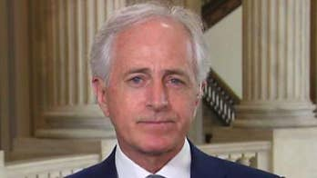 Republican lawmaker from Tennessee says he is proud of Sen. Coons for his vote. Corker also discusses the Iran nuclear deal, Syria and North Korea.