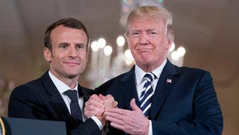 Trump slams the Iran deal as French president Emmanuel Macron calls for new agreement; reaction and analysis from the 'Special Report' All-Stars.