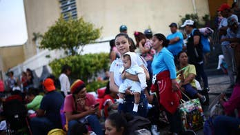 A caravan of migrants seeking asylum in the U.S. is at the U.S-Mexican border despite push back from the Trump administration; Univision News Anchor Enrique Acevedo joins 'The Story' with insight.