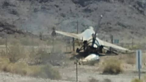 Air Force F-16 crashes in Arizona