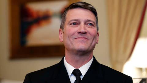 Ronny Jackson: What to know about Trump's VA pick